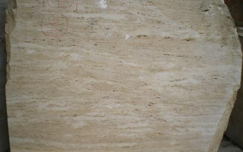 Travertine block of first choice